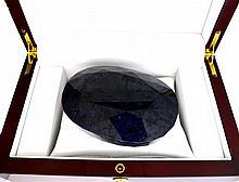 APP: 16.6k 2758.10CT Oval Cut Blue Sapphire Gemstone