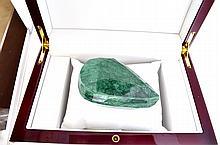 APP: 6.8k 1,141.50CT Pear Cut Green Beryl Emerald Gemstone