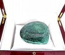 APP: 28.7k 1689.00CT Pear Cut Green Beryl Gemstone