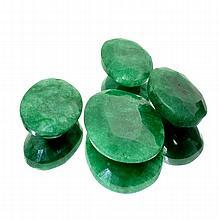 APP: 4k 53.50CT Oval Cut Emerald Beryl Parcel