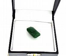 APP: 1.1k 21.20CT Emerald Cut Green Beryl Emerald Gemstone