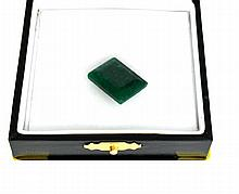 APP: 2.9k 14.58CT Rectangle Cut Green Beryl Emerald Gemstone