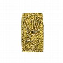 1832-1858 Japanese 2 Shu Gold Bar