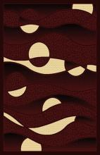 Gorgeous 4x6 Emirates Burgundy 523 Rug  Plush, High Quality Made in Turkey (No Rug Sold Out Of Country)