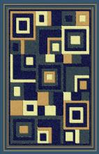 Gorgeous 4x6 Emirates Blue 508 Rug  Plush, High Quality Made in Turkey (No Rug Sold Out Of Country)