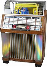 Great Condition Coin-Op Seeburg Select-O-Matic Jukebox Model M100C, Plays 45 RPM/7-Inch Records, Up To 100 Selections, c1952, w/ Keys.-PNR-Pick Up Only-