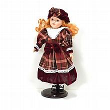 Rare Exquisite Porcelain Doll 13 Inches Tall