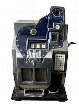 Rare 1 Cent QT Slot Machine Great Condition-P-NR-Due to laws regulating the sale of antique slot machines, I, as the seller, will not sell to members in the states of Alabama, Connecticut, Hawaii, Nebraska, South Carolina, and Tennessee. Bids from