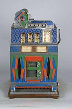 5 Cent Rare Mystery Diamond Slot Machine 1933-PNR- Due to laws regulating the sale of Antique Slot Machines, I, as the seller, will not sell to members in the states of AL, CT,HI, NE,SC, and TN. Bids from members residing in any of these states will