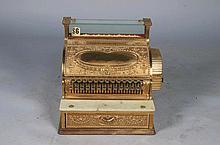 National Cash Register Brass Model 47-1/4 Dated 1904