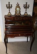 French Inlaid Desk - Pick Up Only -P-