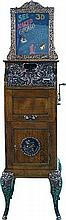 1 Cent Floor Model Caille Flip-Card Mutoscope - Pick Up Only -P-
