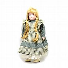 Rare Exquisite Porcelain Doll 17 Inches Tall