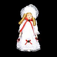 Antique Porcelain Collectible Doll