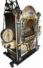 Fully Restored Early Wurlitzer Band Organ on Stand Mint ConditionPICK UP ONLY-P-NR-