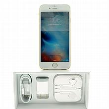 Brand New In Box, Gold I-Phone 6 S, AT&T; Compatible -P-