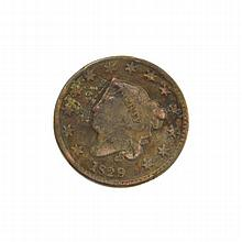 1829 Large Cent Coin