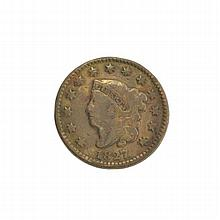 1827 Large Cent Coin