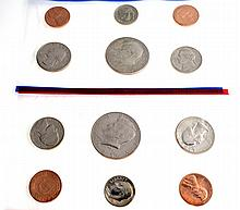 1985 U.S. Uncirculated D And P Mint Marks Coin Set