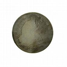 1870 Liberty Seated Half Dollar Coin