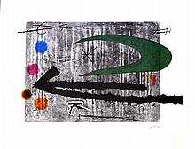 JOAN MIRO (After) Toward the Left Print, 194 of 500