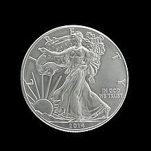 2014 Uncirculated American Silver Eagle Dollar Coin