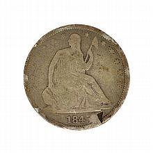 1845-O Liberty Seated Half Dollar Coin