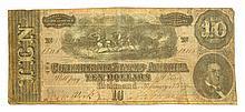 $10 U.S. Confederate Note