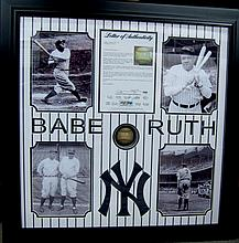 Extremely Rare Authentic Babe Ruth Autographed Baseball Museum Piece PSA/DNA Certified-P-NR-
