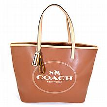 ^Brand New Coach Metro Horse And Carriage Large Tote