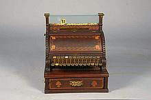 Extremely Rare Wood National Cash Register 1897 Museum Piece-PNR-