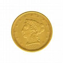 1851 $2.50 U.S. Liberty Head Gold Coin