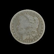 1884-CC Morgan Dollar Coin