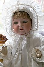 Antique Porcelain Doll -P-