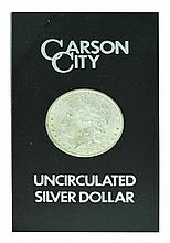 1884-CC U.S. Carson City Uncirculated Morgan Silver Dollar Coin