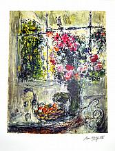 MARC CHAGALL (After) Fruit and Flowers Print, 331 of 500