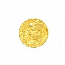 *1915 $1 Panama Pacific Exposition Gold Dollar Coin