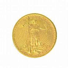 *1922 $20 U.S. Saint Gaudens Gold Coin