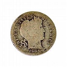 1906 Liberty Head Dime Coin