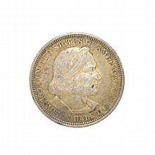 1893  Columbian Exposition Chicago Half Dollar Coin