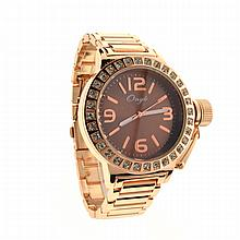 New Michael Kors Style Onyk Sainless Steel Back Ladies Watch