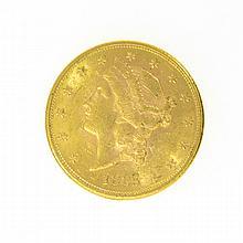 *1885-S $20 U.S. Liberty Head Gold Coin
