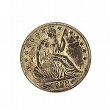 1858-O U.S Half Dollar Liberty Seated Coin