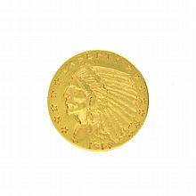 *1914-D $2.5 U.S. Indian Head Gold Coin