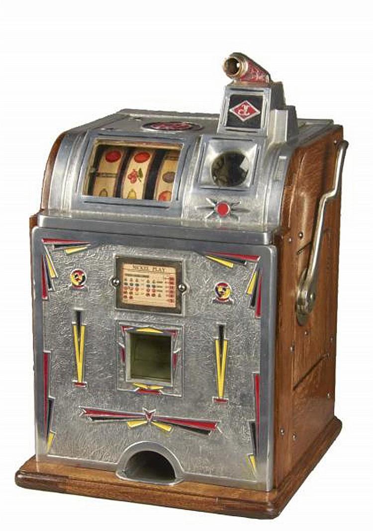 antique slot machine values