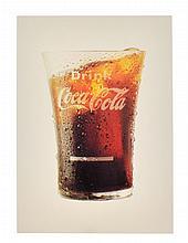 Rare Vintage Coca Cola Advertising Poster/Card (3'' x 4'')