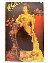 Rare Vintage Coca Cola Advertising Poster (10'' x 15.5'')