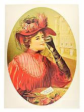 Rare Vintage Coca Cola Advertising Poster (12'' x 16'')