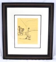 Toulouse-Lautrec (After) ''Ecuyere De Haute Ecole - Le Salut'' Rare Museum Framed 18x20 Ltd. Edition 332/350