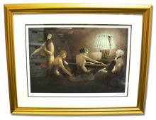 Icart  (After) - Melody Hours - Museum Framed Giclée 23x29